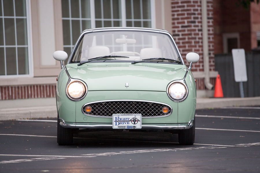 Nissan Figaro front