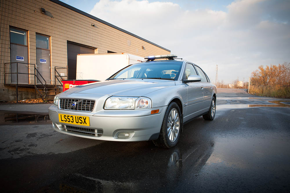 Volvo S80 Police Cruiser for Rent