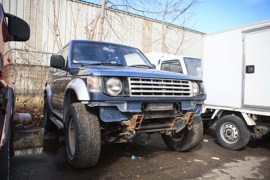 Mitsubishi Pajero Destruction Vehicle 3