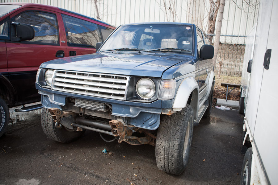 Mitsubishi Pajero Destruction Vehicle 2